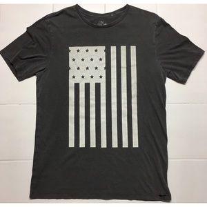 On The Byas American Flag T-shirt